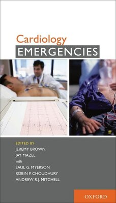 Book Cardiology Emergencies by Jeremy Brown
