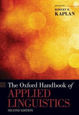 Book The Oxford Handbook of Applied Linguistics by Robert B. Kaplan