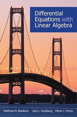 Book Differential Equations with Linear Algebra by Matthew R. Boelkins