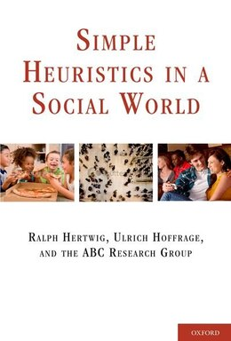 Book Simple Heuristics in a Social World by Ralph Hertwig