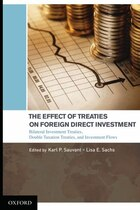 The Effect of Treaties on Foreign Direct Investment: Bilateral Investment Treaties, Double Taxation…