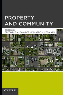 Book Property and Community by Gregory S. Alexander