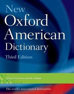 Book New Oxford American Dictionary by Oxford