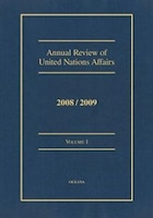 Annual Review of United Nations Affairs 2008/2009: Volume I