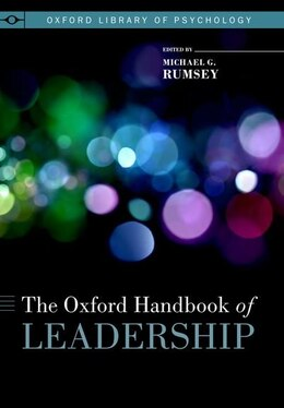 Book The Oxford Handbook of Leadership by Rumsey, Michael G.