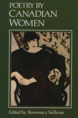 Book Poetry by Canadian Women by Rosemary Sullivan