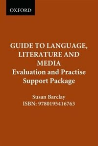Book The Canadian Oxford Guide to Language, Literature and Media: Evaluation and Practise Support Package by Susanne Barclay