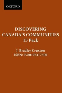 Discovering Canadas Communities: 15 Pack