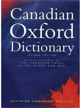 Book Canadian Oxford Dictionary by Katherine Barber
