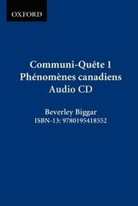 Book Communi-Quete: 1 Phenomenes canadiens: CD by Irene Bernard