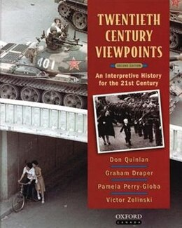 Book Twentieth Century Viewpoints: An Interpretive History for the 21st Century by Donald Quinlan