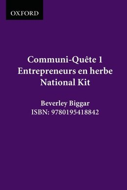 Book Entrepreneurs En Herbe! - Kit Nat. Ed.: Communi-quete 1 by Irene Bernard