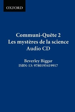 Book Communi-Quete: 2 Les mysteres de la science: CD by Irene Bernard