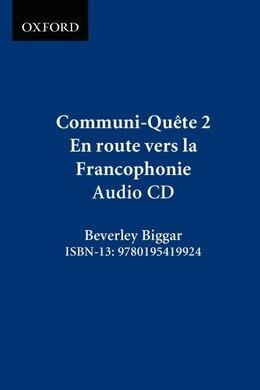 Book Communi-Quete: 2 En route vers la Francophonie: CD by Irene Bernard