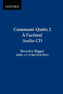 Book Communi-Quete: 2 A l-action: CD by Irene Bernard