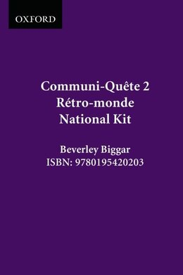 Book Retro-monde - Kit - Nat. Ed.: Communi-quete 2 by Irene Bernard