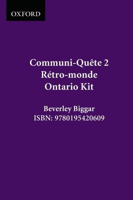 Book Retro-monde - Kit - On Ed.: Communi-quete 2 by Irene Bernard