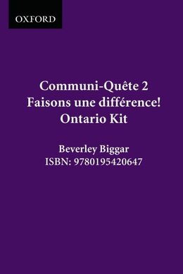 Book Faisons Une Difference! - Kit - On Ed.: Communi-quete 2 by Irene Bernard