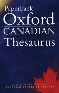Book Paperback Oxford Canadian Thesaurus by Robert Pontisso