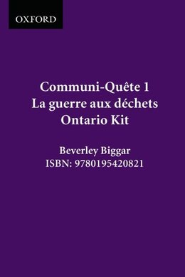 Book La Guerre Aux Dechets - Kit On Ed.: Communi-quete 1 by Irene Bernard