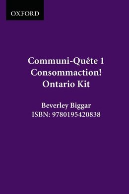 Book Consommaction! - Kit On Ed.: Communi-quete 1 by Irene Bernard