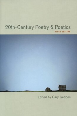 Book 20th-century Poetry And Poetics by Gary Geddes
