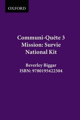 Book Survivor - Kit Nat. Ed.: Communi-quete 3 by Irene Bernard