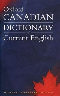 Book Canadian Oxford Dictionary of Current English by Katherine Barber