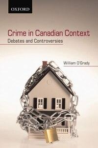 Crime in Canadian Context