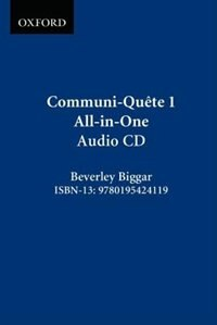 Book Communi-Quete: 1 All-in_One: CD by Irene Bernard