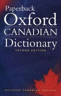 Book Paperback Oxford Canadian Dictionary by Katherine Barber