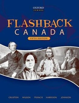 Book Flashback Canada by J. Bradley Cruxton