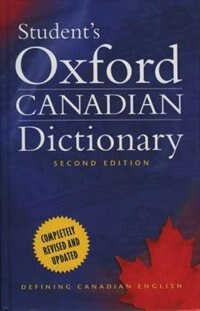 Book Students Oxford Canadian Dictionary by Katherine Barber