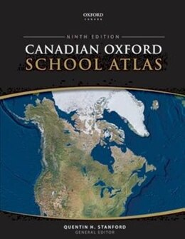 Book Canadian Oxford School Atlas by Quentin Stanford