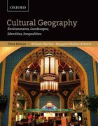 Cultural Geography: Environments, Landscapes, Identities, Inequalities