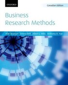 Business Research Methods: Canadian Edition