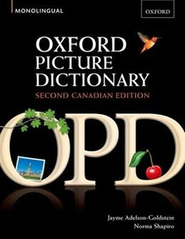 Book Oxford Picture Dictionary, Canadian Edition: Monolingual by Jayme Adelson-Goldstein