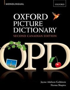 Oxford Picture Dictionary, Canadian Edition: Monolingual