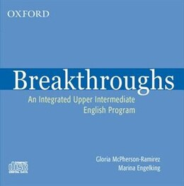 Book Breakthroughs: Audio CD: An Integrated Upper Intermediate English Program by Gloria McPherson-Ramirez