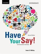 Have Your Say Audio CD: Intermediate Communication Activities