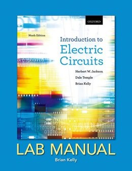 Book Introduction to Electric Circuits: Lab Manual by Herbert W. Jackson