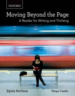 Book Moving Beyond the Page: A Reader for Writing and Thinking by Elpida Morfetas