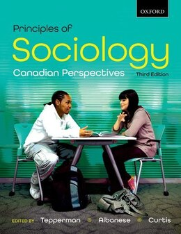 Book Principles of Sociology: Canadian Perspectives by Lorne Tepperman