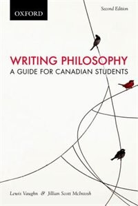 Book Writing Philosophy: A Guide for Canadian Students, Canadian Edition by Lewis Vaughn