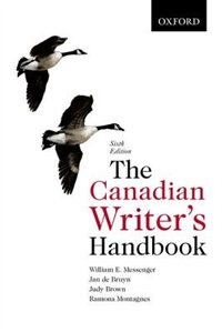 Book The Canadian Writers Handbook by William E. Messenger