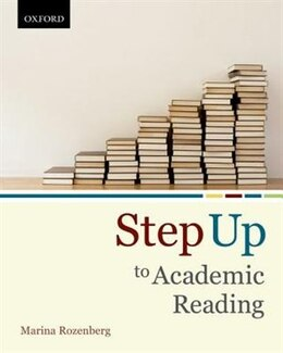 Book Step Up to Academic Reading by Marina Rozenberg