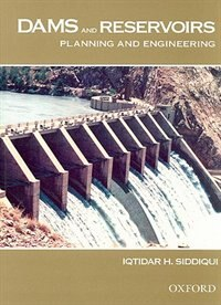 Book Dams and Reservoirs: Planning and Engineering by Iqtidar Siddiqui