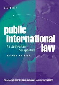 Book Public International Law: An Australian Perspective by Sam Blay