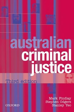 Book Australian Criminal Justice by Mark Findlay