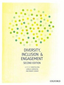 Book Diversity, Inclusion and Engagement by Mervyn Hyde